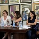 De izquierda a derecha, Yuleidys Rojas, Miryorly García, Anaeli Ibarra, Anay Remón y Andrés Álvarez