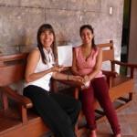 Ibis Hernández Abascal y Yanet Martínez. Tutoría Proyecto curatorial Otra vez primavera