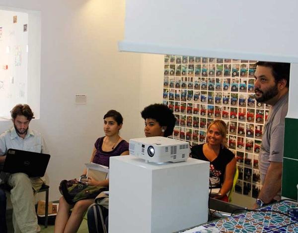 ©Riera Studio. Encuentro con Samuel Riera.Cortesía de Derbis Campos.