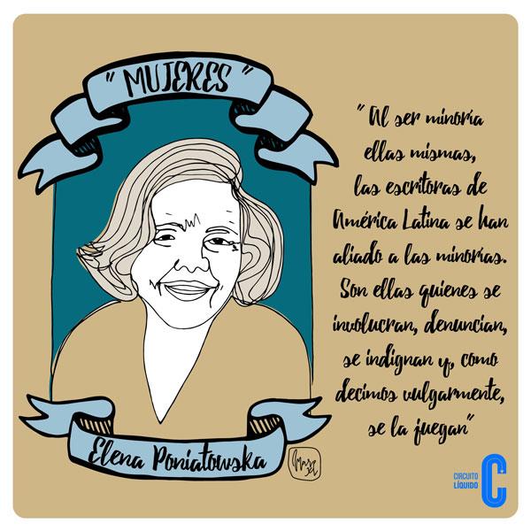 7. Elena Poniatoswka, escritora (México)