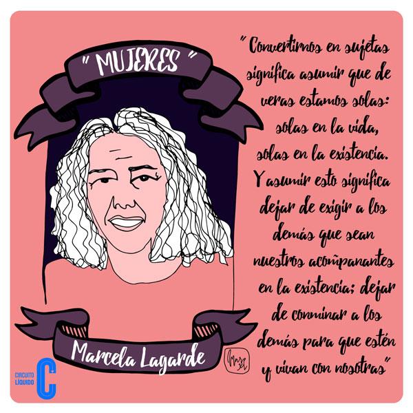 4. Marcela Lagarde, feminista, investigadora (México). Una de las figuras más relevantes del feminismo latinoamericano