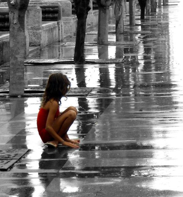 Tatiana Homar. Sobre mojado. Impresión digital, 2016