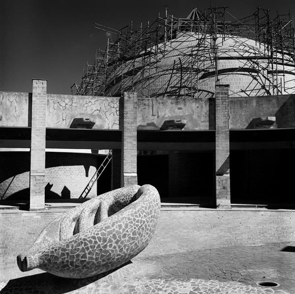 Ossain Raggi, de la serie Restauración. El anillo y el estanque, 2006-2012