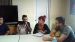 Ricardo, Luis Orlando, Dayana y René
