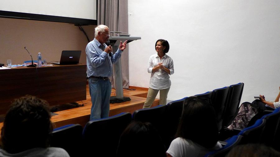 Luc-Chessex-y-Grethel-Morel.-Networking-Seminario-Luc-Chessex-en-Cuba
