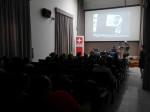 Diálogo con Luc. Organizado por Olivier Praz, J´Adjunto de Cooperación Embajada Suiza y mediado por Grethel Morell