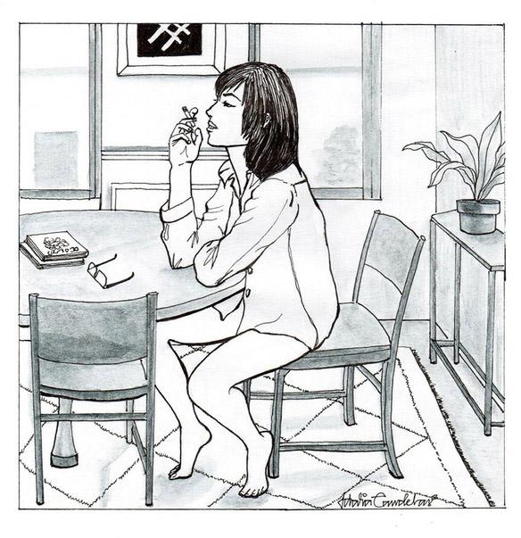 being-single-woman-illustrations-idalia-candelas
